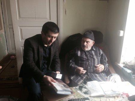 Şamaxının millət vəkili Elxan Süleymanovun adından şamaxılı müharibə veteranları təbrik edildi