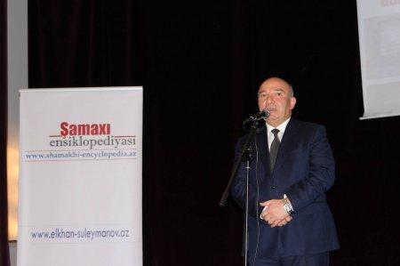 Şamaxı Ensiklopediyası saytının təqdimatından fotolar