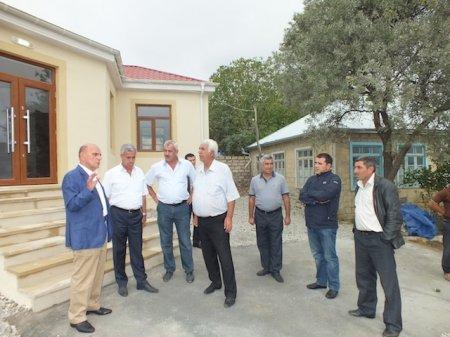 Millət vəkili dağ kəndində məktəb tikdirib
