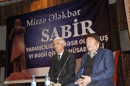 Şamaxıda altıncı Sabir bədii qiraət müsabiqəsinə yekun vuruldu